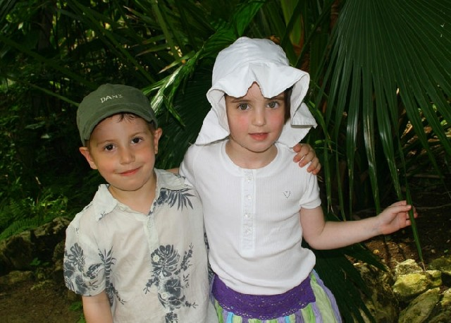 Esthy and Danya